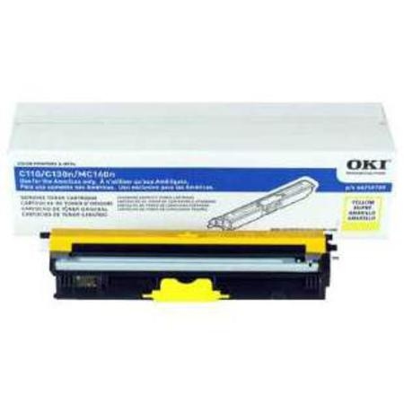 OKI 44250709 Yellow Original Standard Toner Cartridges