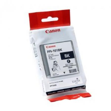 Canon PFI-101BK Black Original Ink Cartridge