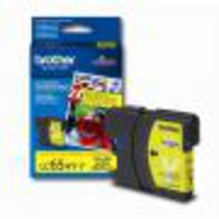 Brother LC65 Original Yellow High Yield Ink Cartridge