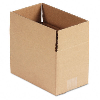Corrugated Kraft Fixed-Depth Shipping Carton 6w x 10l x 6h Brown 25/Bundle