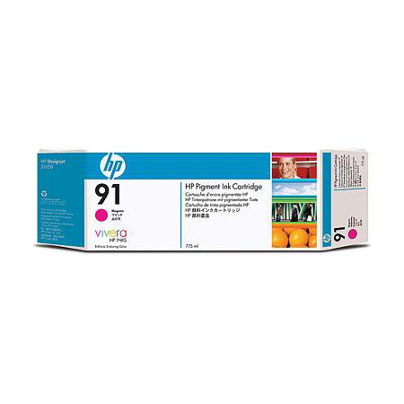 HP 91 (C9468A) Original Magenta Ink Cartridge