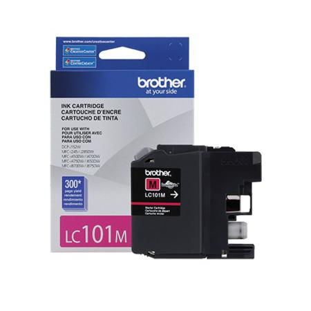 Brother LC101M Magenta Original Standard Capacity Ink Cartridge