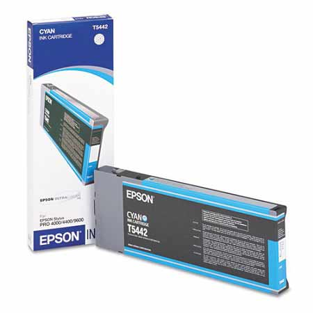 Epson T544200 Cyan Original UltraChrome Ink Cartridge