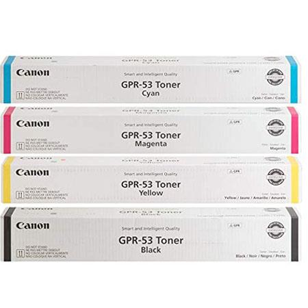 Canon GPR-53 Full Set Original Toner Cartridges