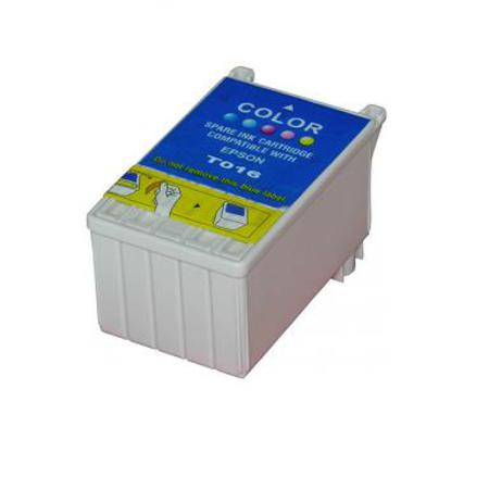 Compatible Color Epson T016 Ink Cartridge (Replaces Epson T016201)