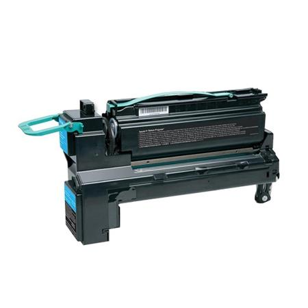 Compatible Cyan Lexmark C792X1CG Extra High Yield Toner Cartridge