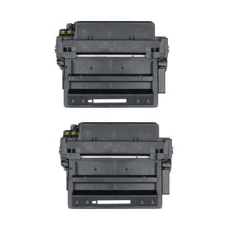 11A Black Remanufactured Micr Toner Cartridges Twin Pack