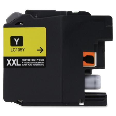 Compatible Yellow Brother LC105Y Extra High Yield Ink Cartridge