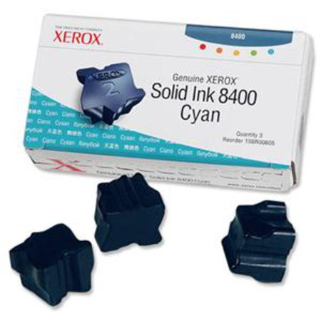 Xerox 108R00605 Original Cyan Ink Sticks (Pack of 3)-USA Made