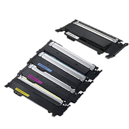 Compatible Multipack Samsung CLT-4072S BK/C/M/Y Full Set + 1 Extra Black Toner Cartridges