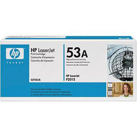 HP LaserJet 53A (Q7553A) Original Black Toner Cartridge