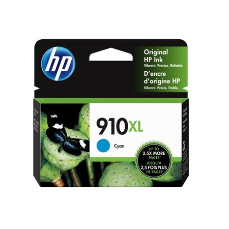 HP 910XL (3YL62AN) Cyan Original High Capacity Ink Cartridge