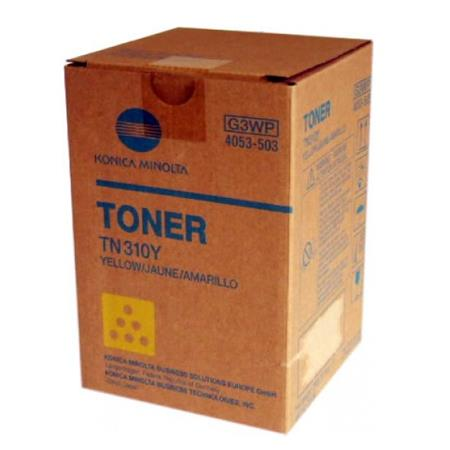 Konica-Minolta 4053-501 Yellow Original Toner Cartridge TN310