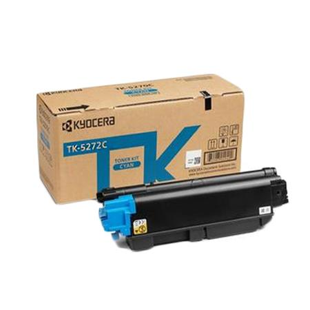Kyocera TK-5272C Cyan Original Toner Cartridge