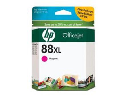 HP 88XL Magenta Original Ink Cartridge with Vivera Ink (C9392AN)