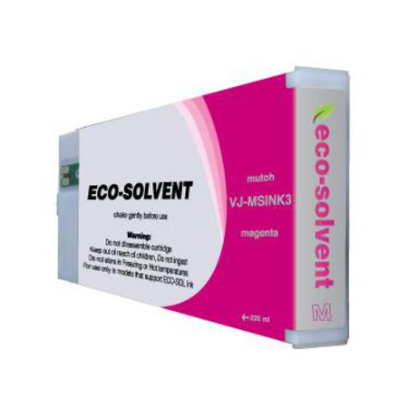 Mutoh VJ-MSINK3-MA Compatible Eco-Solvent Magenta Standard Capacity Inkjet Cartridge