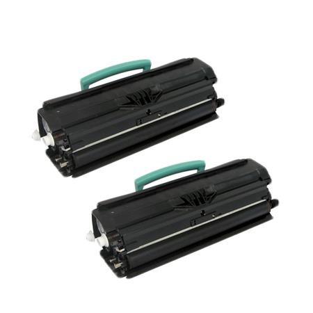 E250A21A Black Remanufactured Toners Twin Pack