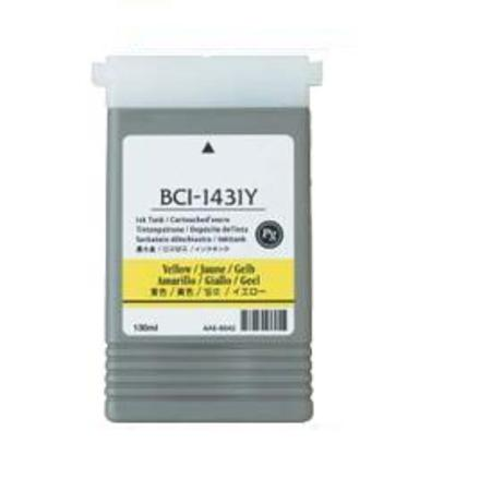 Canon BCI-1431Y Yellow Compatible Ink Cartridge