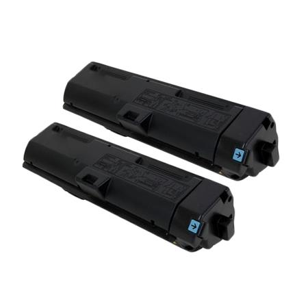 Clickinks TK-1172K Black Remanufactured Toners Twin Pack
