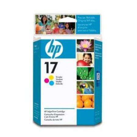 HP 17 Tri-Color Original Inkjet Print Cartridge (C6625A)