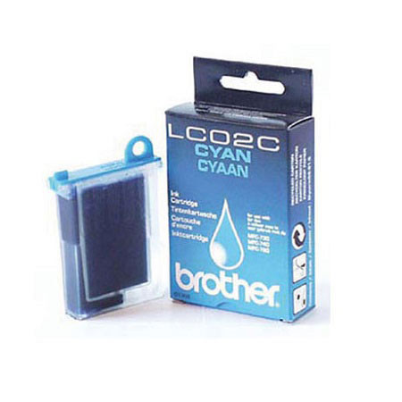 Brother LC02C Cyan Original Print Cartridge