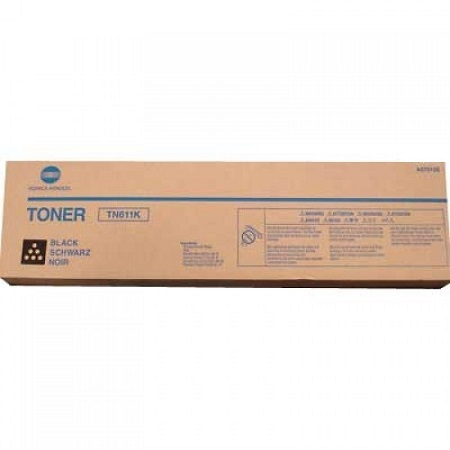 Konica Minolta TN611 Black Original Toner Cartridge (A070130)