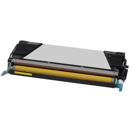 Lexmark C734A1YG Yellow Remanufactured Toner Cartridge