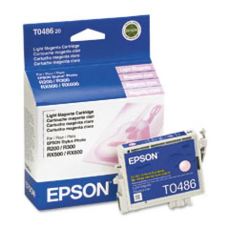 Epson T0486 (T048620) Original Light Magenta Ink Cartridge