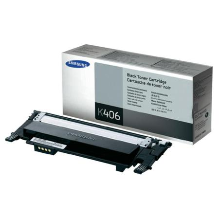 Samsung CLT-K406S/ELS Black Original Standard Yield Toner Cartridge