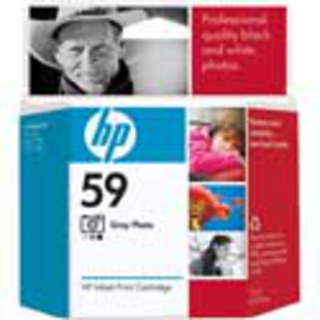 HP 59 Gray Photo Original Inkjet Print Cartridge (C9359AN)