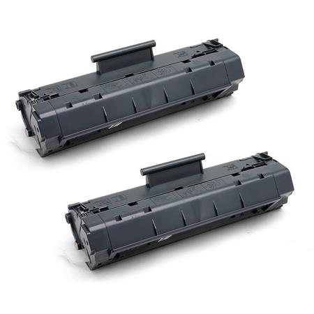 79A Black Remanufactured Toner Cartridges Twin Pack