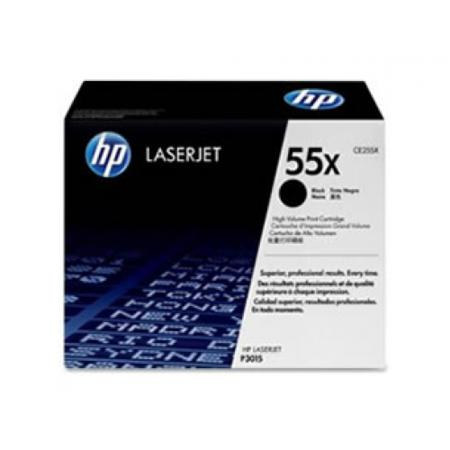 HP 55X (CE255X) Original Black High Capacity Toner Cartridge