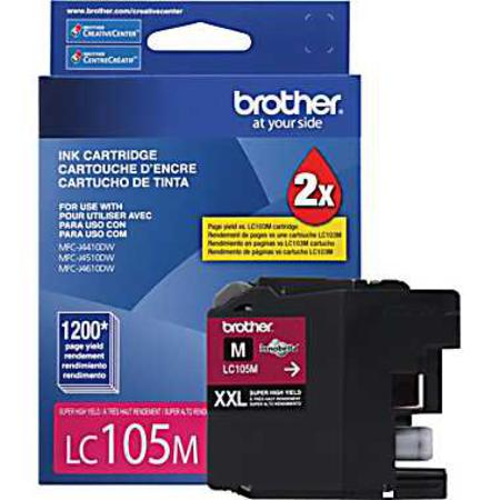 Brother LC105M Magenta Original Extra High Capacity Ink Cartridge