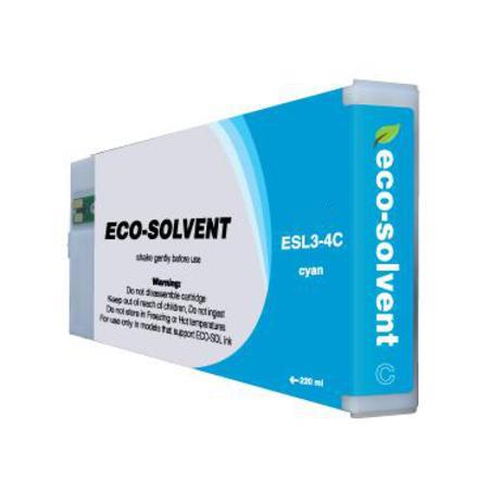 Compatible Cyan Roland ESL3-4CY-ST Eco-Sol Max Standard Yield Ink Cartridge