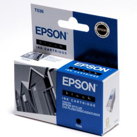 Epson T036 (T036120) Original Black Ink Cartridge
