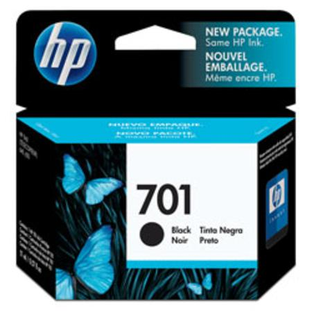 HP 701 Black Original Inkjet Print Cartridge (CC635A) (NH-RC635)