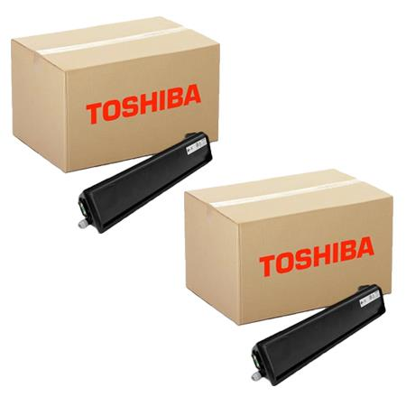 T3008U Black Remanufactured Toner Cartridge Twin Pack
