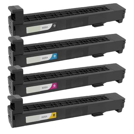 Clickinks 826A Full Set Remanufactured Toner Cartridges