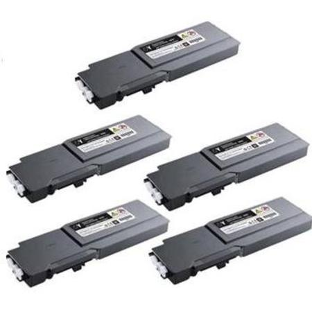 Compatible Multipack Dell 331-8429-30 Full Set + 1 EXTRA Toner Cartridges