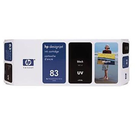 HP 83 Original Black UV Ink Cartridge (C4940A)