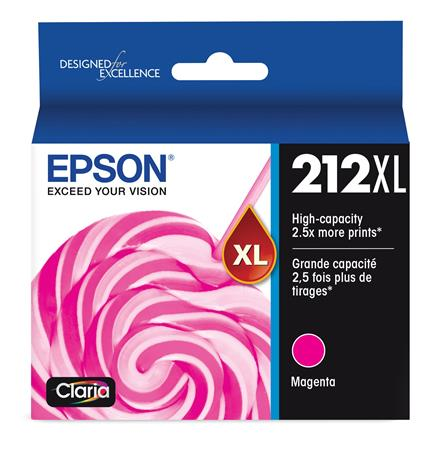 Epson 212XL (T212XL320) Magenta Original High Capacity Ink Cartridge