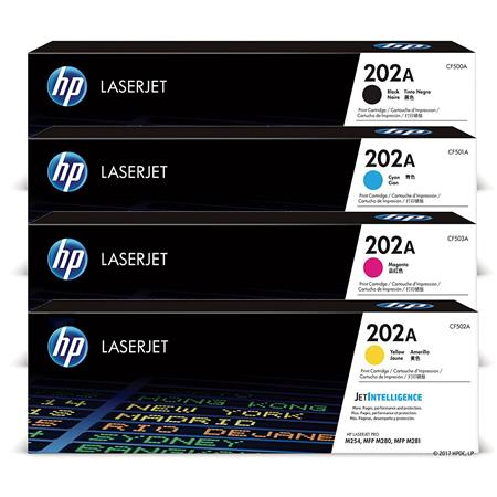 202A Full Set Original Standard Capacity Toner Cartridges