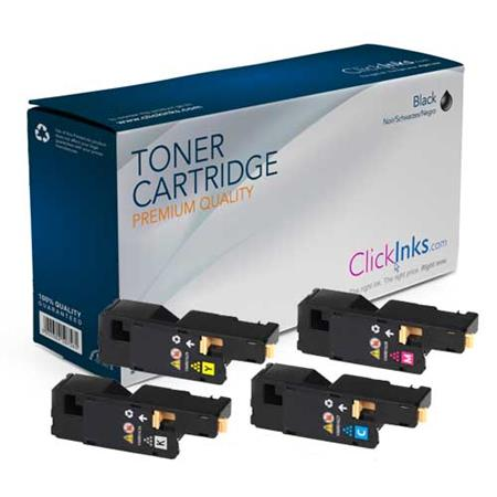 Clickinks 106R01627/30 Full Set Remanufactured Toner Cartridges