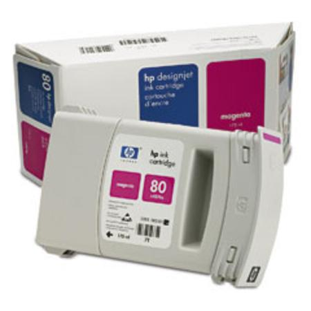 HP 80 Original Magenta Ink Cartridge (C4874A)