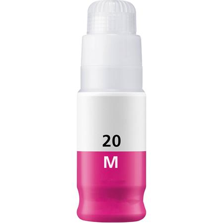 Compatible Magenta Canon GI-20M Ink Bottle (Replaces Canon 3395C001)