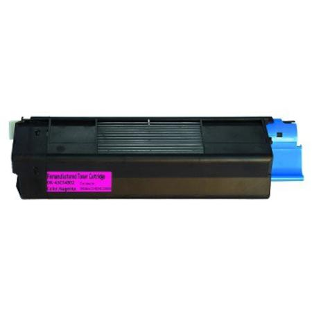 OKI 43034802 Remanufactured Magenta Toner Cartridge MS