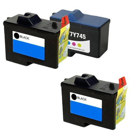 Clickinks 7Y743/7Y745 Full Set + 1 EXTRA Remanufactured Ink