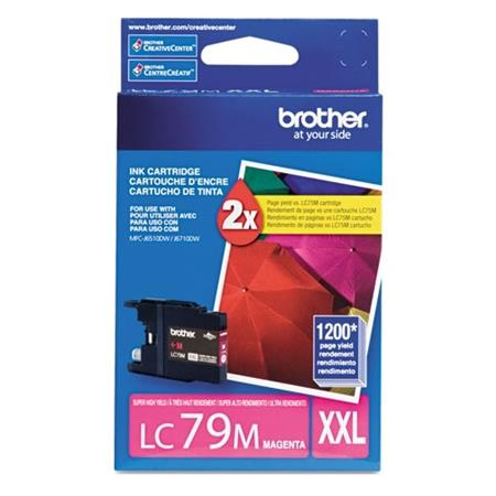 Brother LC79M Original Magenta Super High-Yield Ink (LC-79M)