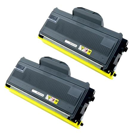 406911 Black Remanufactured Toner Cartridge Twin Pack