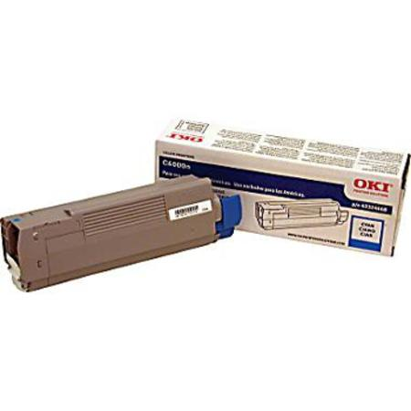 OKI 43324468 Cyan Original Toner Cartridge